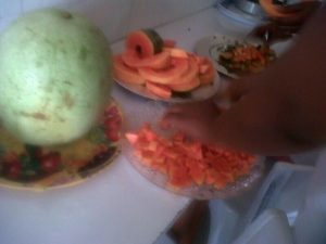 fruit-salad-making