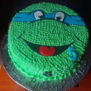 turtle Ninja cake